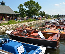 Pewaukee Antique and Classic Boat Show