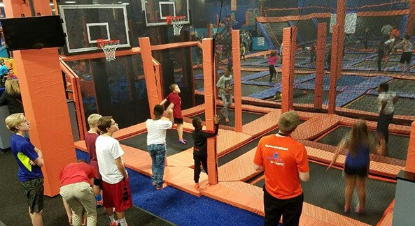 graphic about Printable Sky Zone Waiver titled Sky Zone Indoor Trampoline Park Pay a visit to Waukesha Pewaukee