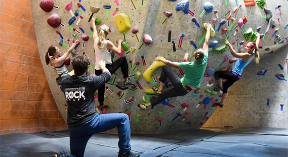 Adventure Indoor Rock Climbing Gym Groups Visit Waukesha Pewaukee