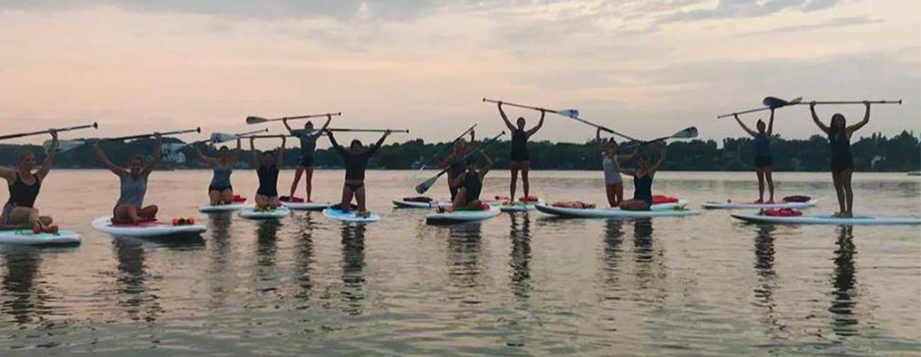 Paddleboard-yoga-at-Koha-Yoga-Pewaukee-Lake