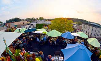 Outdoor-dining-People's-Park-Rooftop-Waukesha